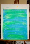 Study of color: blue/green